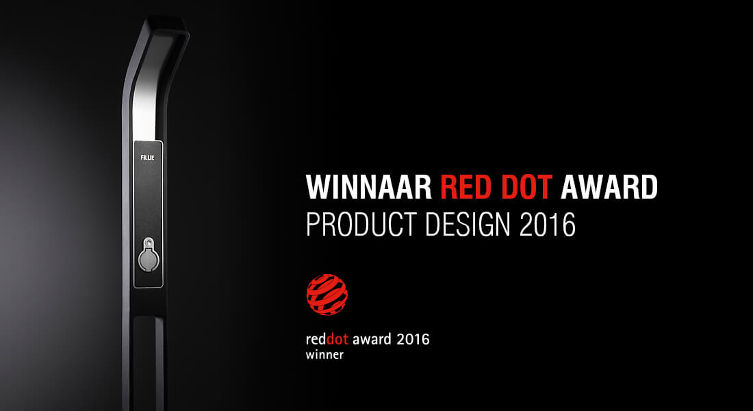 LA VISION DU STYLE DE FILLIE® A ÉTÉ RÉCOMPENSÉE PAR LE RED DOT DESIGN AWARD 'PRODUCT DESIGN 2016'.